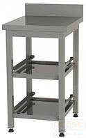 Стол для хранения корзин пос.машины Orest BM2-0,5 (две полки)