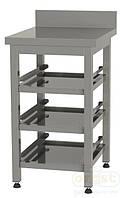 Стол для хранения корзин пос.машины Orest BM3-0,5 (три полки)