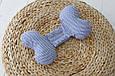 "Детская подушка для новорожденных ""Butterfly"", синий зигзаг, фото 2"