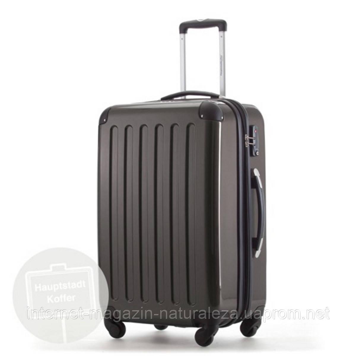 Дорожный чемодан Hauptstadtkoffer Alex Midi графитовый