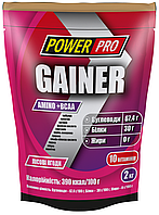 Gainer Amino+BCAA гейнер лесная ягода 2кг Power Pro
