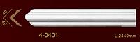 Молдинг угловой профильный гибкий 4-0401