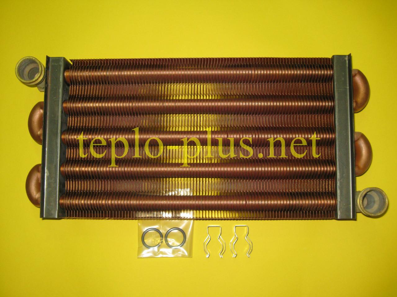 Теплообменник первичный (основной) 064713 Vaillant ATMOmax Pro / Plus VUW 240/2-3, VUW 240/2-5