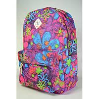Школьный рюкзак для девочки подростка Букет цветов