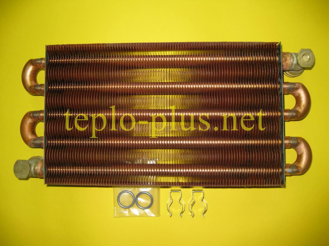 Теплообменник первичный (основной) 064713 Vaillant ATMOmax Pro / Plus VUW 240/2-3, VUW 240/2-5, фото 2