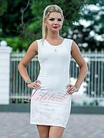Белое летнее Платье Виржини