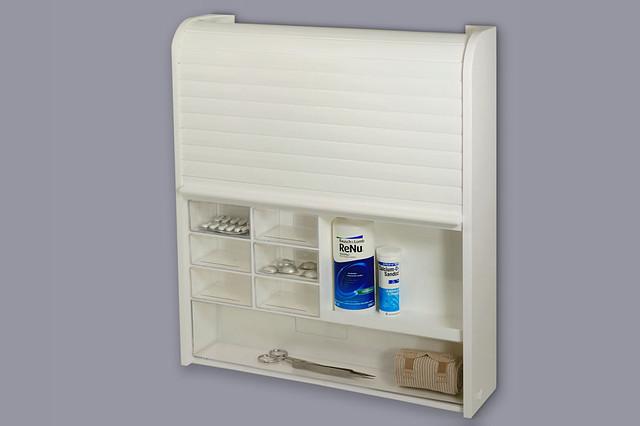 Удобный и функциональный шкафчик для медикаментов с замком, код 092