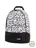 Рюкзак, наплечник 25 Л ( с отделением для ноутбука ) Urban Planet - Brain ( белый / чёрный )