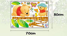 Дизайнерская наклейка Спящий Винни, фото 3