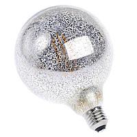 LED лампа Эдисона G-125  (пятнистая зеркальность)  /special series/