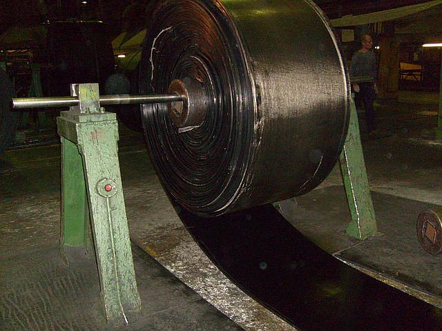История происхождения конвейерной (транспортёрной) ленты