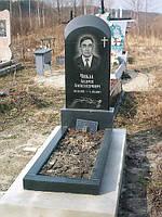Пам'ятник одинарний po-01 po-08