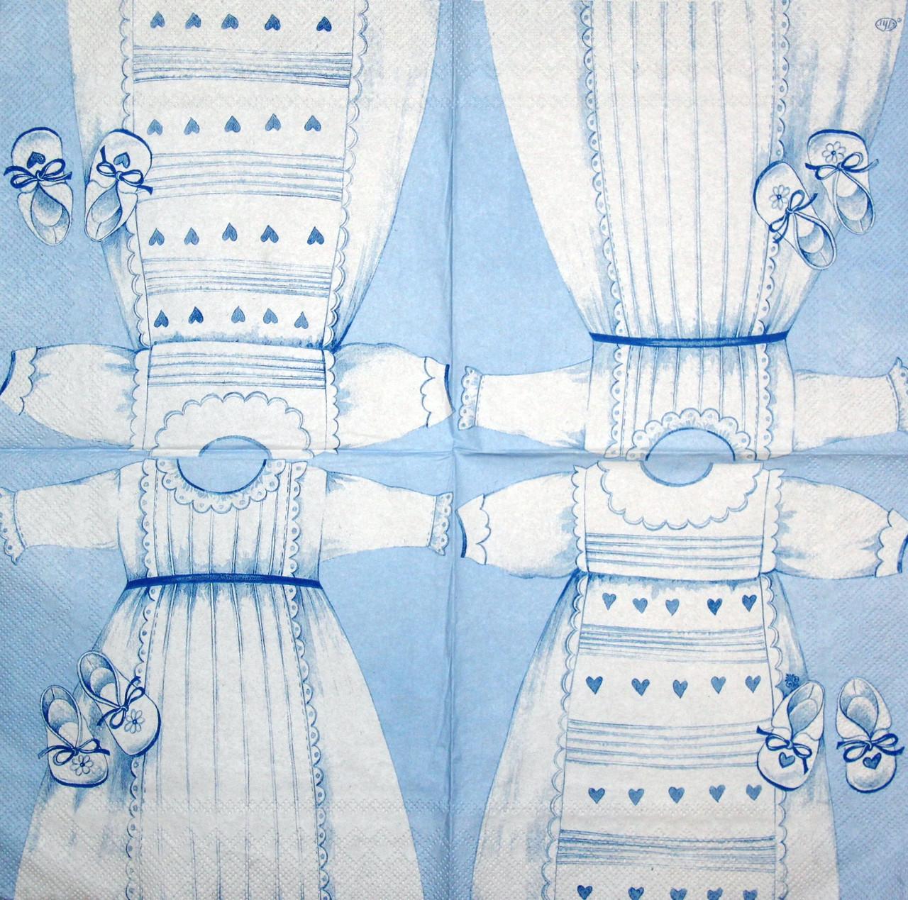 Салфетки для декупажа Платье для крещения 1227