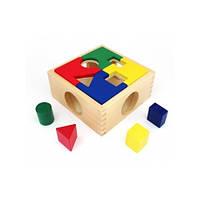 Деревянные игрушки МДИ - Сортер занимательная коробка (Д029)
