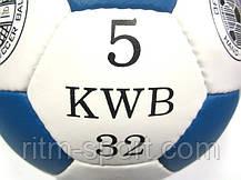 Мяч футбольный OFFICIAL (№5, 5 слоев, ручная сшивка), фото 2