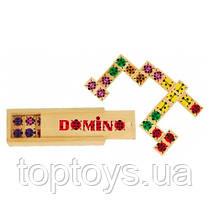 Деревянные игрушки МДИ - Домино божья коровка (Д087)
