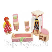 Набор мебели для кукол МДИ - Ванная комната (Д274)