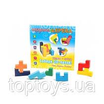 Деревянные игрушки МДИ - Собери 3D пазл (Д301)