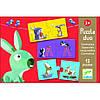 Игра настольная детская Djeco - Противоположности DJ08162