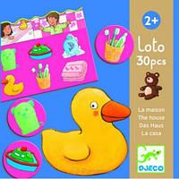 Игра настольная детская Djeco - Лото. Дом DJ08121, фото 1