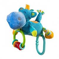 Велюровая Игрушка BabyOno - Бегемот