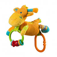 Игрушка Велюровая BabyOno со Звуком Жирафа
