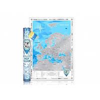 Discovery Map Скретч карта Европы (англ)