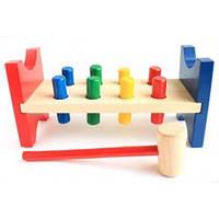 Деревянные игрушки МДИ - Стучалка гвозди оборотни (Д002)