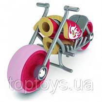Деревянная игрушка Hape - Мотоцикл E Chopper (897681)