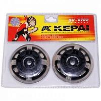 Колеса для роликов светящиеся (2шт) KEPAI SK-0702