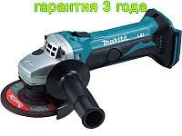Аккумуляторная шлифмашинка 115мм Makita BGA452Z