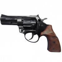 "Револьвер под патрон флобера, нарезной PROFI Pocket Compact (3.0"", 4.0мм), ворон-пластик"