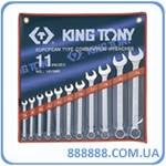 Набор ключей комбинированных 11 шт. 8 - 24 мм 1211MR King Tony