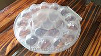 Упаковка для перепелиных яиц блистер круглый на 20 шт