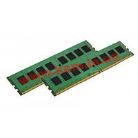 Оперативная память Kingston 16GB DDR4 Kit (8GB x2) KVR21E15D8K2/16 2133Mhz ECC UDI (KVR21E15D8K2/16)