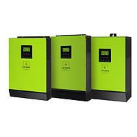 Сетевой солнечный инвертор с резервной функцией 4кВт, 220В, 1-фазный, 1 МРРТ,  ISGRID 4000, AXIOMA energy