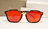 Солнцезащитные очки Dior Abstract красный цвет линзы