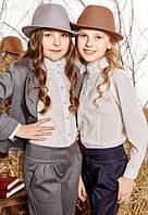 Школьные брюки для девочки Suzie Селеста цвет черный р.146