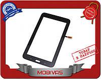 Сенсорное стекло тачскрин Samsung SM-T110 wifi черный