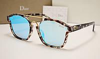 Солнцезащитные очки Dior Abstract голубая линза, фото 1