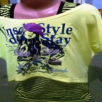 Комплект майка, футболка