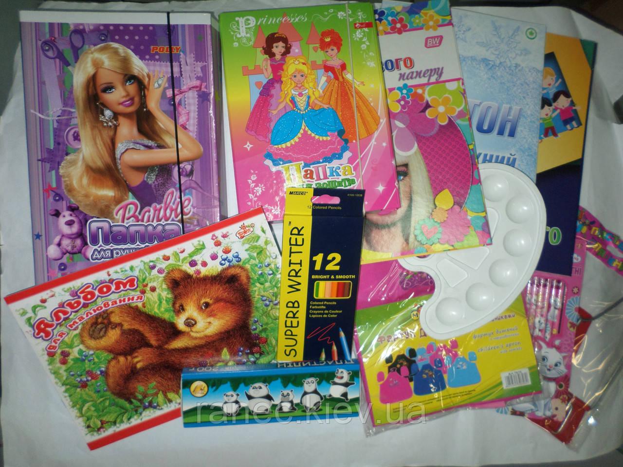 a00d04e0aaa9 Комплект первоклассника для девочки, набор канцелярии эконом ...