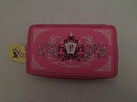 """Акция!! Пенал """"Princess"""" розовый 2 отделения"""