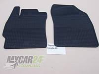 Резиновые ковры в салон перед. Toyota Corolla 07-/13- (CLASIC) кт-2 шт.