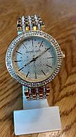 Часы Michael Kors  Darci Gold Crystal-set Dial Gold-ton (бел.циферблат)
