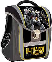 """Рюкзак 1 Вересня каркасный 551954 H-14 """"Ultrabot""""  35*23*16см"""