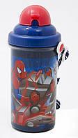 """Бутылка для воды Spiderman """"Человек-паук"""" 1 Вересня 704156"""