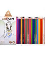 Карандаши цветные Marco 3130-24CB ColorCore