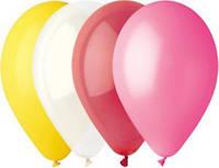 1101-0006 - 12 шарики воздушные пастель в ассортименте. Gemar Balloons