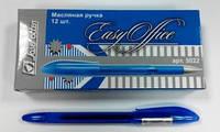 """5022 Ручка масляная """"Easy Office"""" синяя"""
